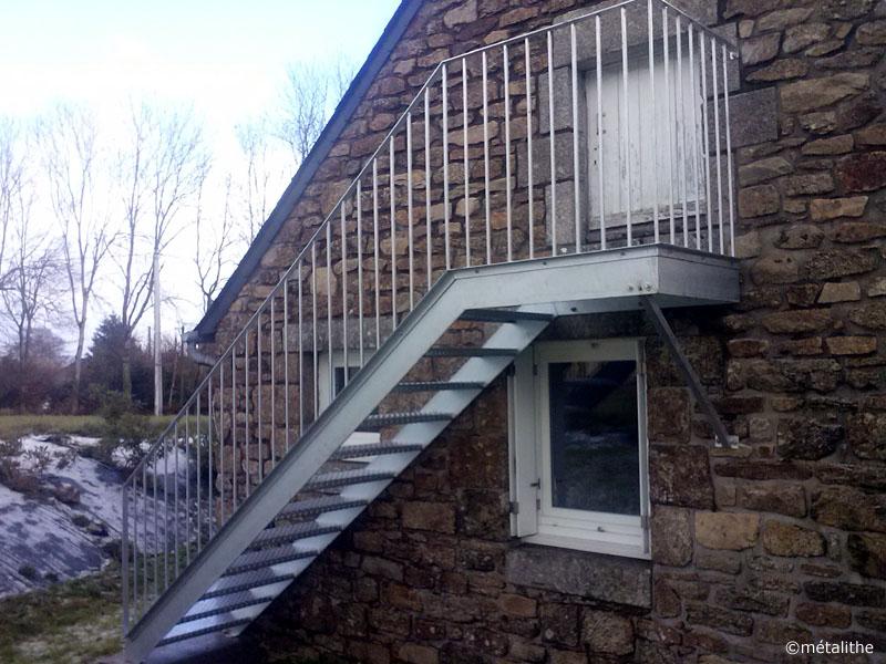 Escalier De Service Exterieur